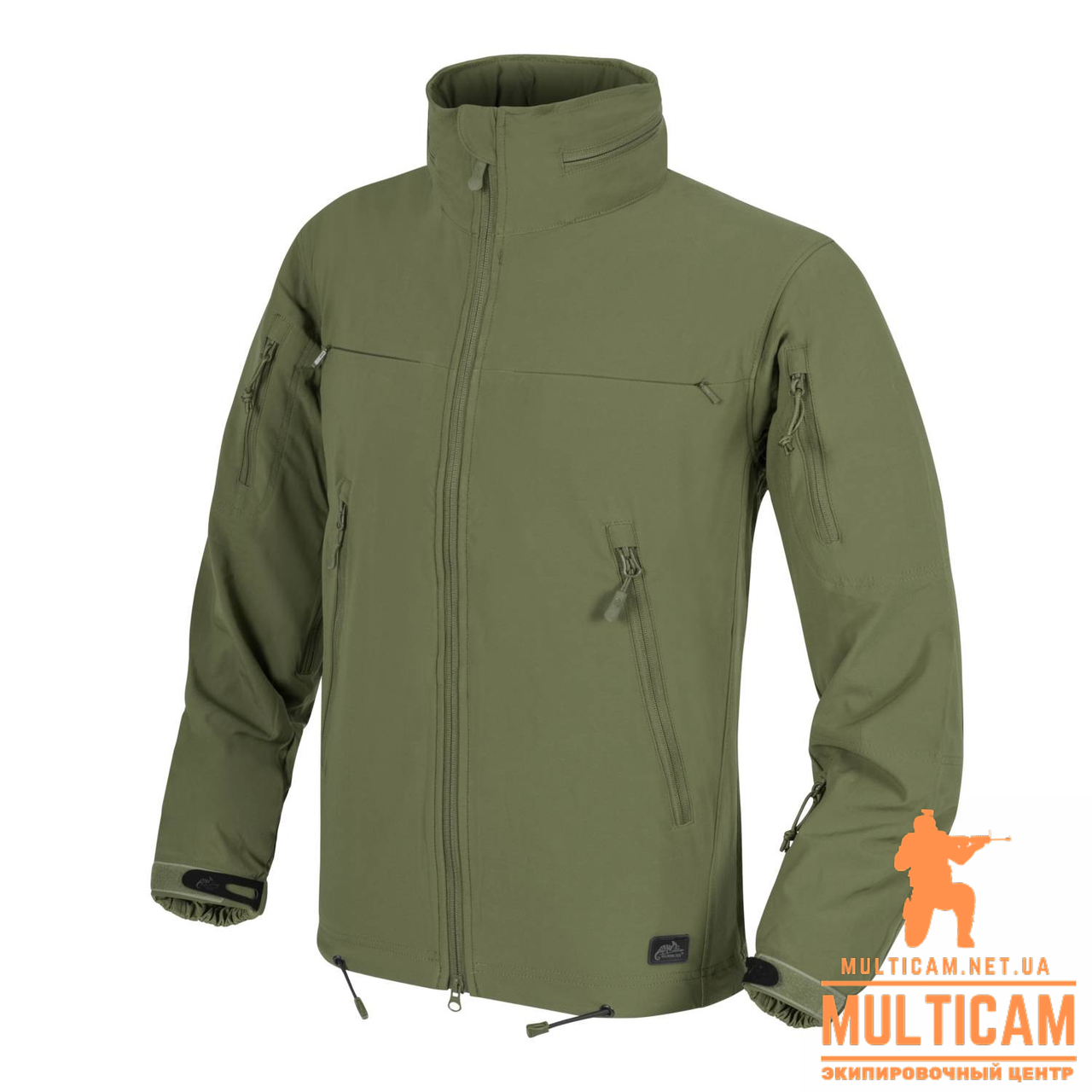 Куртка Windblockers Helikon-Tex® COUGAR QSA™ + HID™ Jacket® - Olive Green