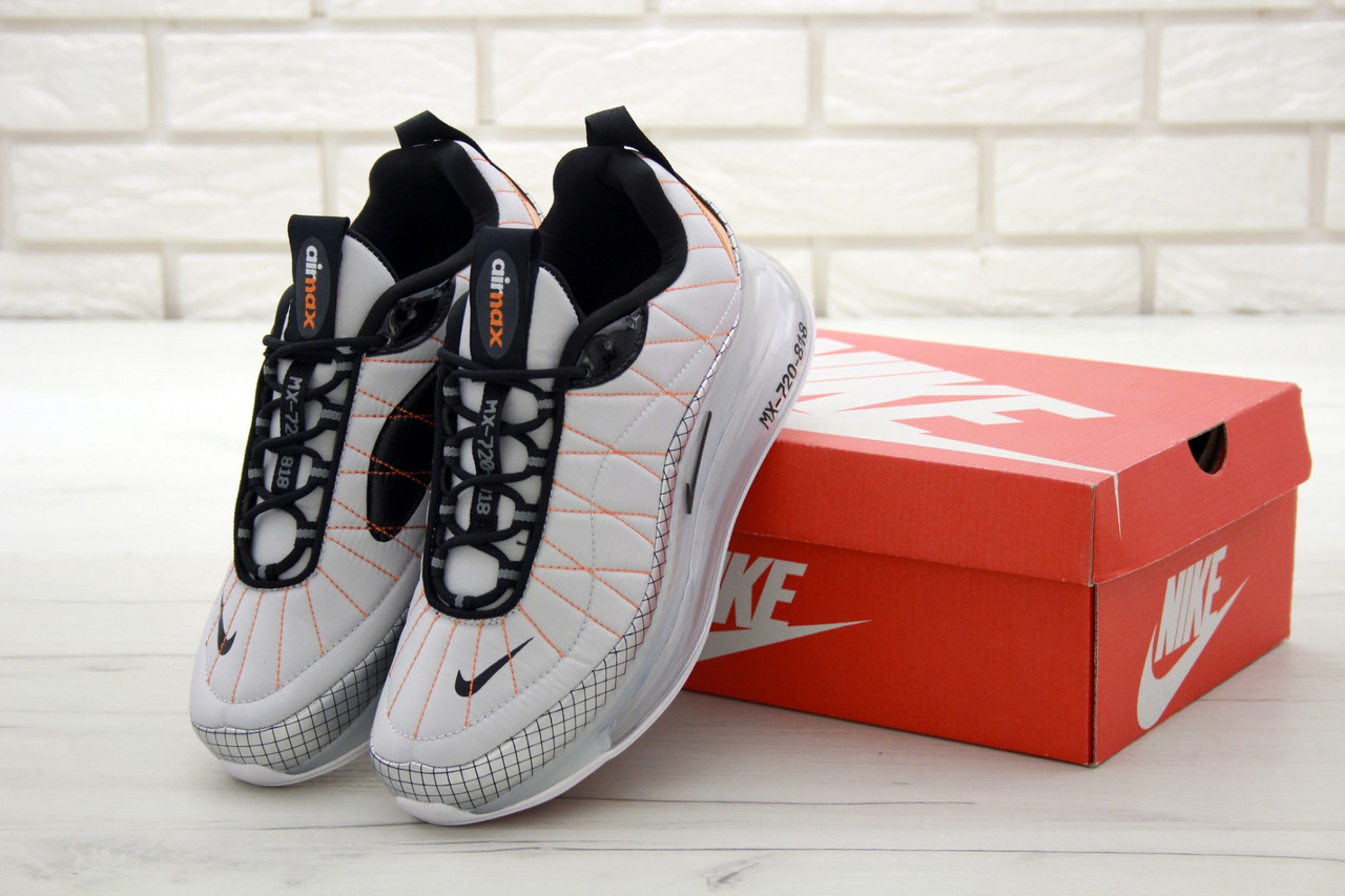 Мужские кроссовки Nike Air Max 720 - 818 Grey . ТОП Реплика ААА класса.