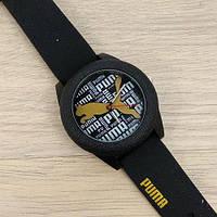 Стильные женские часы Puma Черные