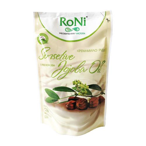 """Жидкое крем-мыло """"RONI"""" Масло жожоба Дой-пак (450 мл)"""