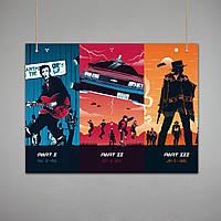 Постер: Назад в будущее (Макет №3)