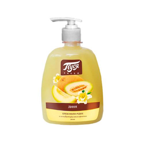 """Жидкое мыло для рук """"Пуся"""" Дыня (0.5 л) с дозатором"""