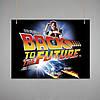 Постер: Назад в будущее (Макет №5)