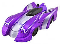 Антигравитационная машинка на радиоуправлении MHZ Wall Climber 5044 Purple (008520) КОД: 008520