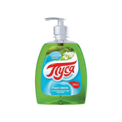 """Жидкое мыло """"Пуся"""" Чайное дерево (0.5 л)"""
