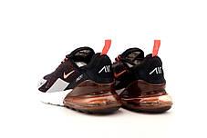 Мужские кроссовки Nike Air Max 270. Black Grey. ТОП Реплика ААА класса., фото 2