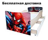 Детская кровать Фантазия бабочки светлячки волшебство, фото 6