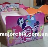 Детская кровать Фантазия бабочки светлячки волшебство, фото 9