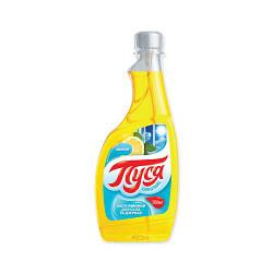 """Средство для мытья стекол """"Пуся"""" Лимон (0.5 л) запаска"""