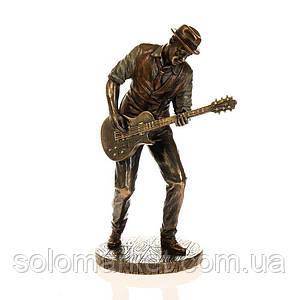 Статуэтка Veronese Гитарист Роберт Лерой Джонсон  20 см 77180