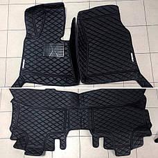 Комплект ковриков из экокожи для Bmw X6 E71 2008–2014, фото 3