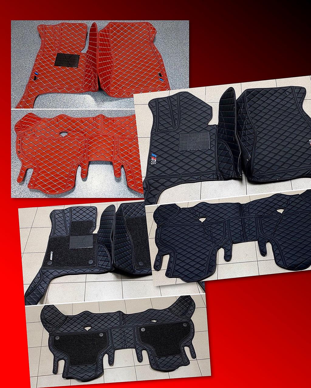 Комплект ковриков из экокожи для Bmw X6 E71 2008–2014