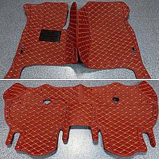 Комплект ковриков из экокожи для Bmw X6 E71 2008–2014, фото 2