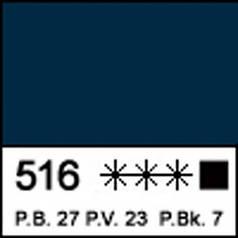 Краска акриловая МАСТЕР-КЛАСС, индиго 46мл ЗХК 351442