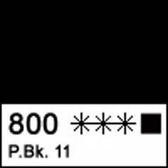 Краска акриловая МАСТЕР-КЛАСС, марс черный 46мл ЗХК 351450