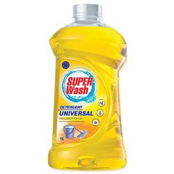 """Средство для мытья поверхностей """"Super Wash"""" (1 л) - универсальное, с ароматом лимона"""
