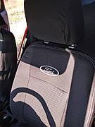 Чохли на сидіння FORD Fiesta з 2010р 1/3 спина / 4 підголівника