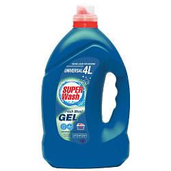 """Жидкое средство для стирки """"Super Wash Universal"""" (4 л)"""
