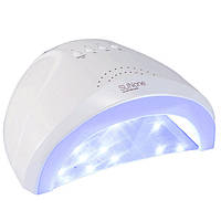 Лампа для маникюра и педикюра SunOne 48 Вт LED UV Белый (719401307)