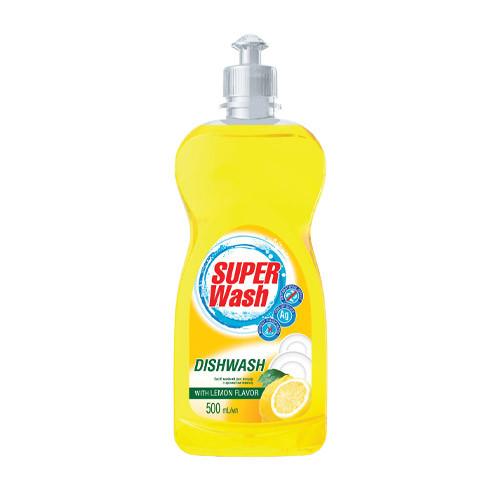 """Средство для мытья посуды """"Super Wash"""" Лимон (0.5 л)"""