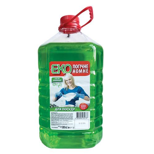 Моющее средство для мытья посуды Пуся Эконом - 5 л