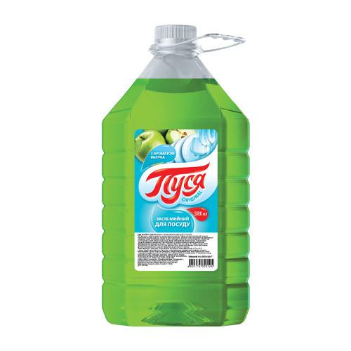 """Средство для мытья посуды """"Пуся"""" Яблоко ( 5 л)"""