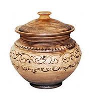 Горшок для запекания Покутская Керамика Шляхтянская 750 мл (ST-503505_psg)