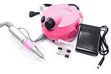Фрезер для маникюра и педикюра Nail Drill DM 202-30W 35000 оборотов Розовый (684287642А)