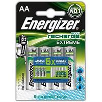 Аккумуляторы АА, 2300 mAh, Energizer Recharge Extreme, 4 шт, 1.2V, Blister (ENR EXTREME RECH 2300)