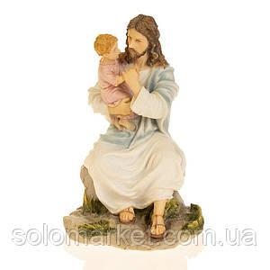 Статуэтка Veronese Иисус и дитя 19 см 75879AA