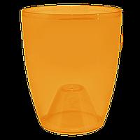 Кашпо для орхидей 12см прозрачный /тонированный/