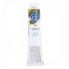 Краска масляная МАСТЕР-КЛАСС оливковая Арзакан, 46мл ЗХК 352627