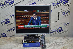 Комплект, Т2 приставка, монитор, телевизор, 19 дюймов