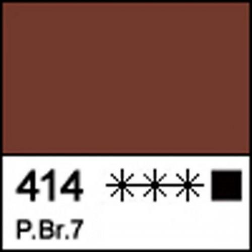 Краска масляная МАСТЕР-КЛАСС красно-коричневая Вайк, 46мл ЗХК 351754