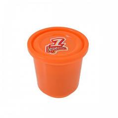 Пластилиновая паста Веселое тесто, 60гр оранжевая 540464
