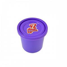 Пластилиновая паста Веселое тесто, 60гр фиолетовая 540466