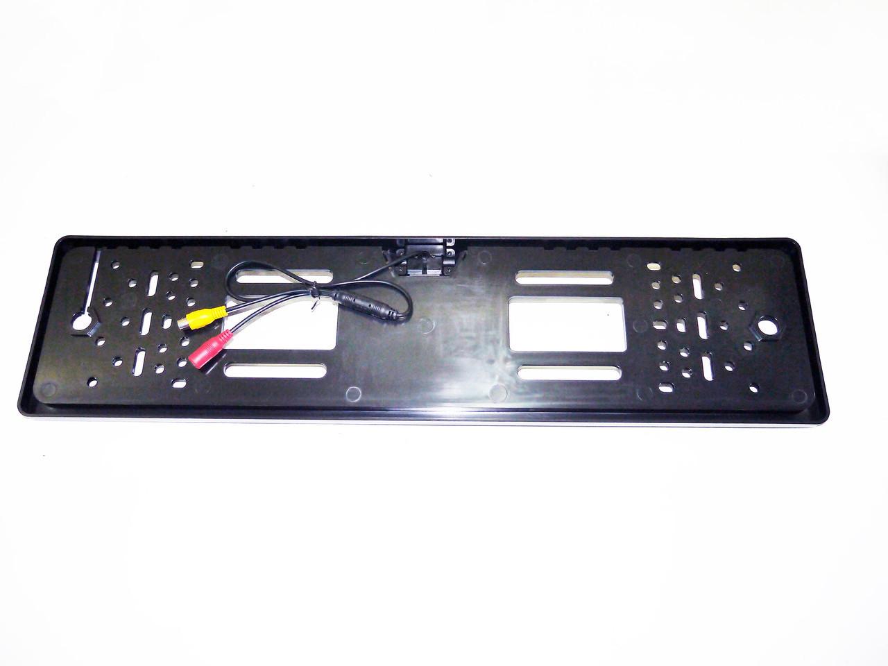 Камера заднего вида Noisy N-420 Black в рамке автомобильного номера (398346001)