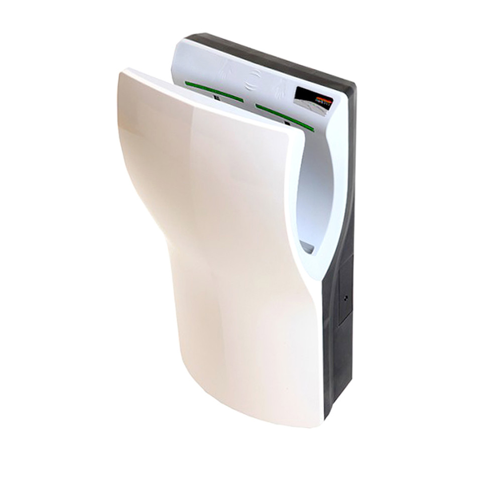 Сушилка для рук DUALFLOW PLUS (белый и сатиновый ABS пластик) 1100W (Испания)