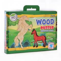 Деревянный пазл Лошадка 953420