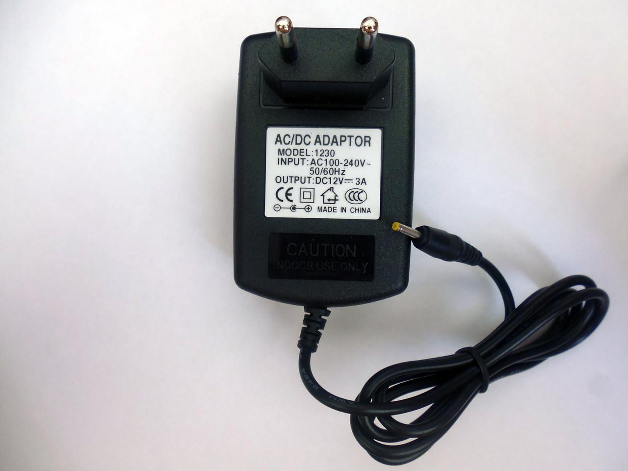 Сетевое зарядное для планшета 12 вольт