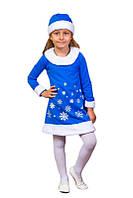 Новогодний костюм 98-110 см Снежинка (К3604)