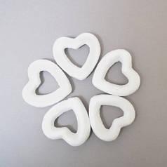 Набор пенопластовых фигурок SANTI Контурное сердце, 5шт/уп., 35mm 742628