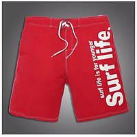 Красные пляжные шорты для мужчин Gailang - №1152, фото 1