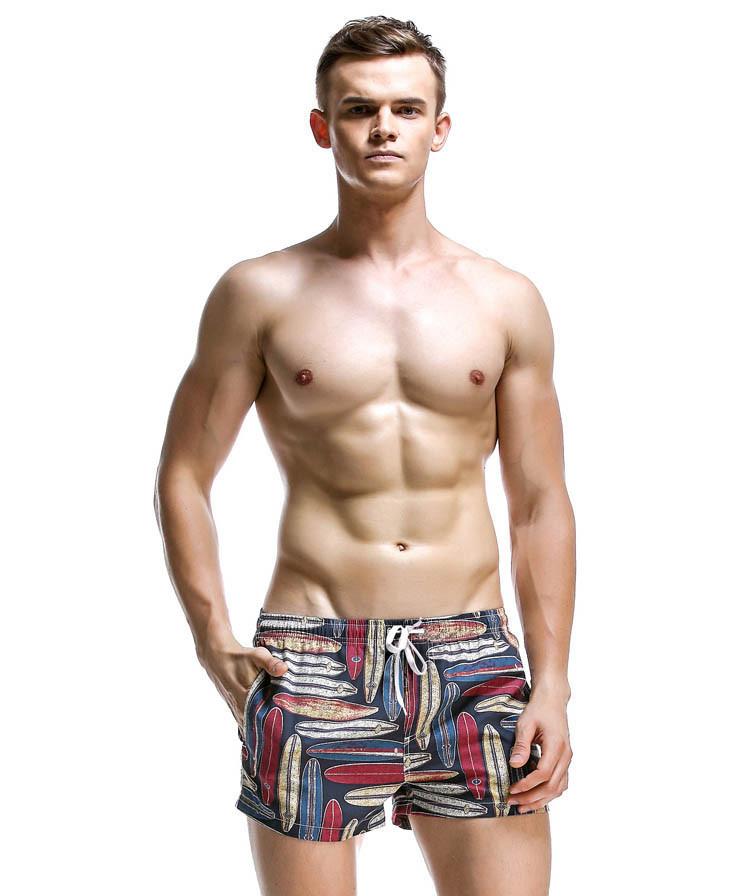 Стильные пляжные шорты Seobean - №1833