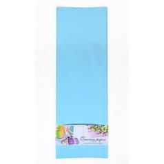 Пленка для упаковки и декорирования, светло-голубой, 60*60см, 10 листов. 741622