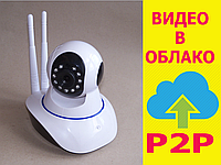 Беспроводная WIFI IP P2P поворотная камера dvr YooSee Onvif YY HD WiFi 6030B/100ss (видеоняня) | AG420028