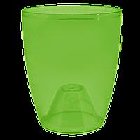 Кашпо для орхидей 15см прозрачный /тонированный/