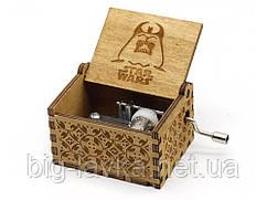 Деревянная музыкальная шкатулка Star Wars №11