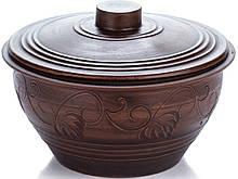 Кастрюля Gorshki Супница 13 х 24 см Темно-коричневый (000002091)