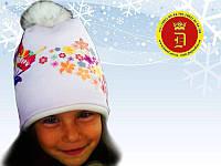 Зимние шапки для девочек от производителя